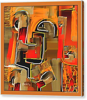 Abstract 973 Canvas Print by Nedunseralathan R
