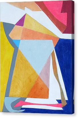 Abstract Angles IIi Canvas Print by Diane Fine