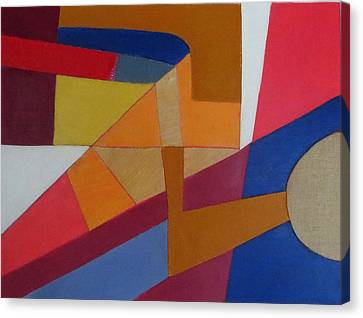 Abstract Angles Viii Canvas Print by Diane Fine
