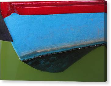 Abstract Boat Bow Canvas Print by Juergen Roth