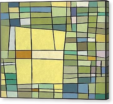 Abstract Cubist Canvas Print by Gary Grayson