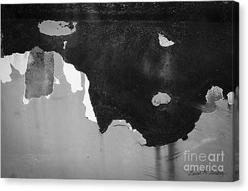 Abstract Fender I Canvas Print by Dave Gordon