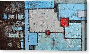 Abstract - Finding My Way Canvas Print by Patricia Awapara