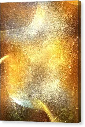 Abstract Fire Canvas Print by Veronica Minozzi