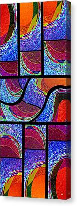 Abstract Fusion 168 Canvas Print by Will Borden