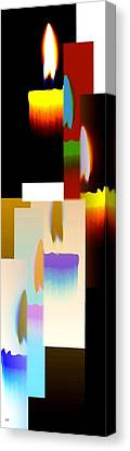 Abstract Fusion 185 Canvas Print by Will Borden