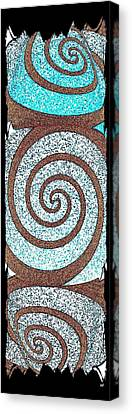 Abstract Fusion 231 Canvas Print by Will Borden