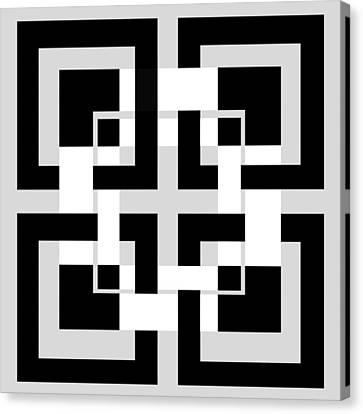 Abstract Geometric  Canvas Print by Mark Ashkenazi