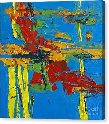 Abstract Landscape No 1 Canvas Print by Patricia Awapara