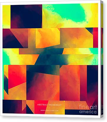 Abstract Movement Canvas Print by Lonnie Christopher