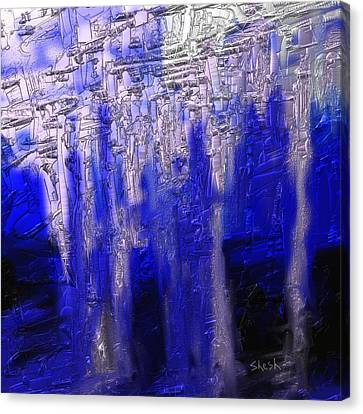 Abstract No. 55 Canvas Print by Shesh Tantry