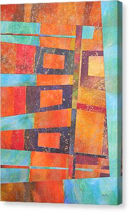 Abstract No.1 Canvas Print by Adel Nemeth