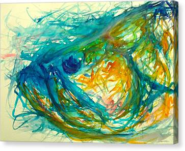 Abstract Poon  Canvas Print by Yusniel Santos