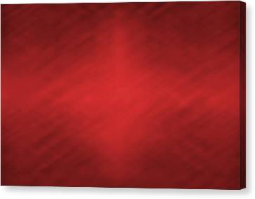 Abstract Red Motion Blur Background Canvas Print by Somkiet Chanumporn