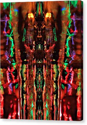 Abstract Reflections Canvas Print by Dan Sproul