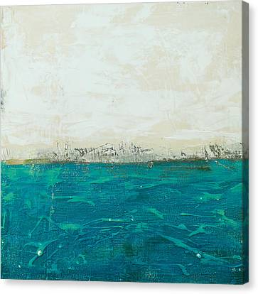 Abstract Seascape 02/14b Canvas Print by Filippo B