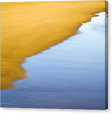 Abstract Seascape Canvas Print by Frank Tschakert