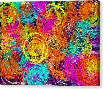 Abstract Space 6 Canvas Print by Yury Malkov