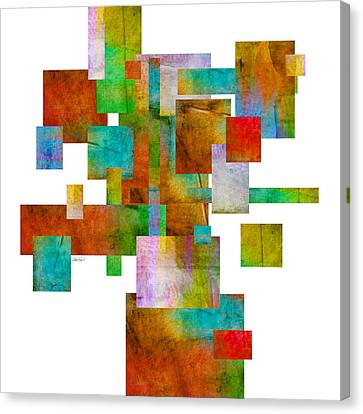 Abstract Study 22 Abstract- Art Canvas Print by Ann Powell