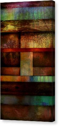 Abstract Study Five  Canvas Print by Ann Powell