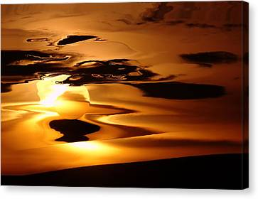 Abstract Sunrise Canvas Print by Jeff Swan