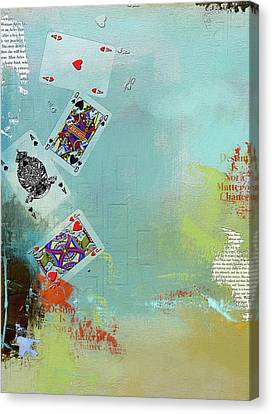 Abstract Tarot Card 009 Canvas Print by Corporate Art Task Force
