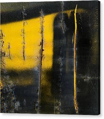 Abstract Train Art Canvas Print by Carol Leigh