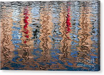 Abstract Water Ripples  Canvas Print by Tim Gainey