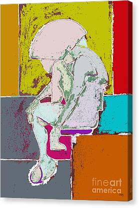 Abstraction 113 Canvas Print by Patrick J Murphy