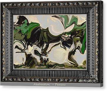 Abstraction Ab2 Canvas Print by Pemaro