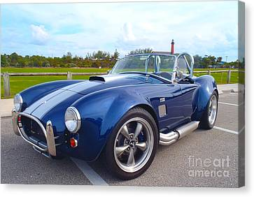 Ac Cobra Canvas Print by Carey Chen