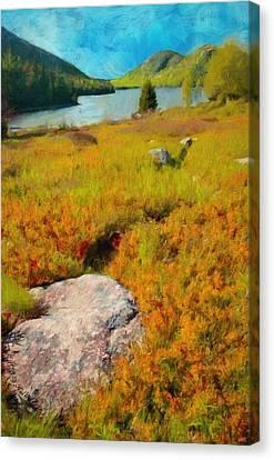 Acadia Spring Canvas Print by Jeff Kolker