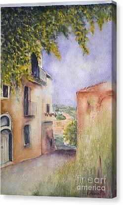 Accadia Canvas Print by Kathleen Pio