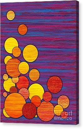 Accumulation Canvas Print by David K Small