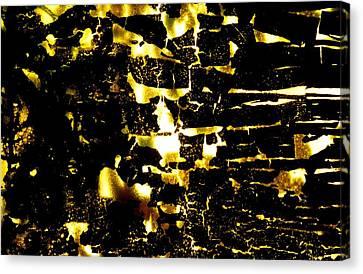 Na 38 Everyone's Happy Underground Canvas Print by Kika Pierides