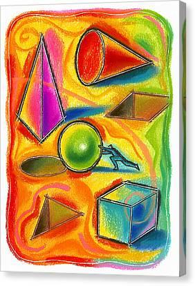 Achiever Canvas Print by Leon Zernitsky