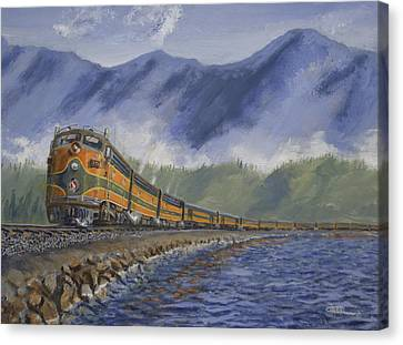 Across The Great Northwest Canvas Print by Christopher Jenkins