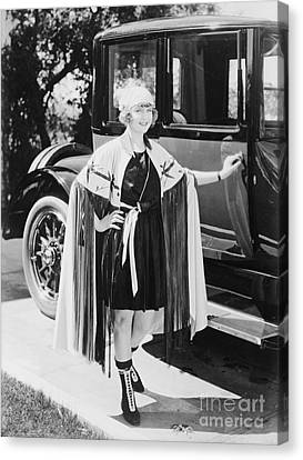 Actress May Allison Canvas Print by Padre Art