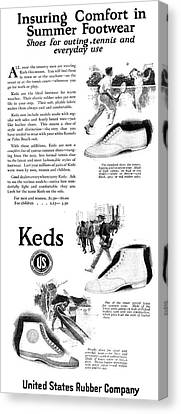 Ad Keds, 1920 Canvas Print by Granger