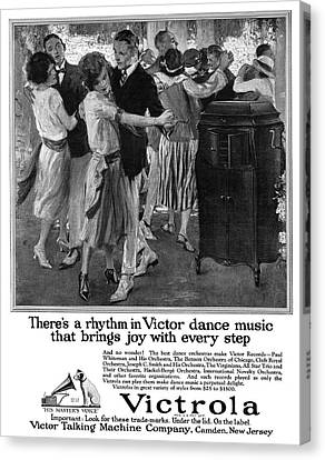 Ad Victrola, 1922 Canvas Print by Granger