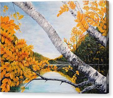 Adirondacks New York Canvas Print by Holly Carmichael