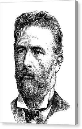 Adolf Bastian Canvas Print by Bildagentur-online/tschanz