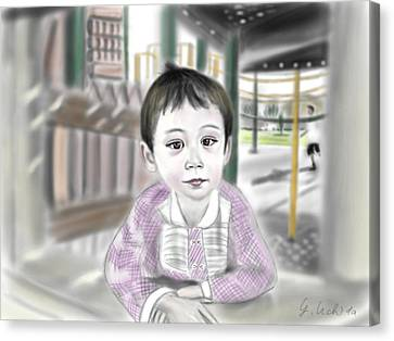 Adora 9th Portrait Canvas Print by Yoshiyuki Uchida