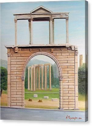 Adrian's Gate Canvas Print by Anastassios Mitropoulos