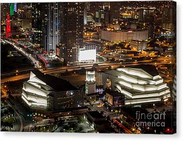 Adriene Arsht Performing Art Center Canvas Print by Rene Triay Photography