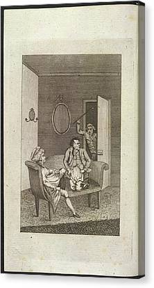Adultery Canvas Print by British Library