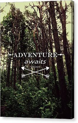 Adventure Awaits Canvas Print by Nicklas Gustafsson