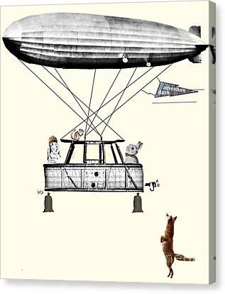 Adventure Days 2  Canvas Print by Bri B