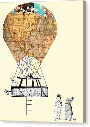 Adventure Days  Canvas Print by Bri B