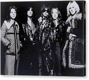 Aerosmith - America's Greatest Rock N Roll Band Canvas Print by Epic Rights